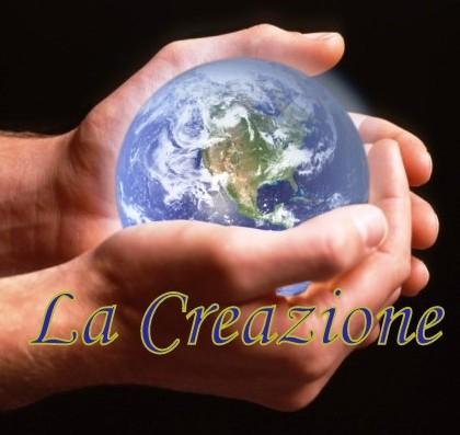 La Creazione - con scritta